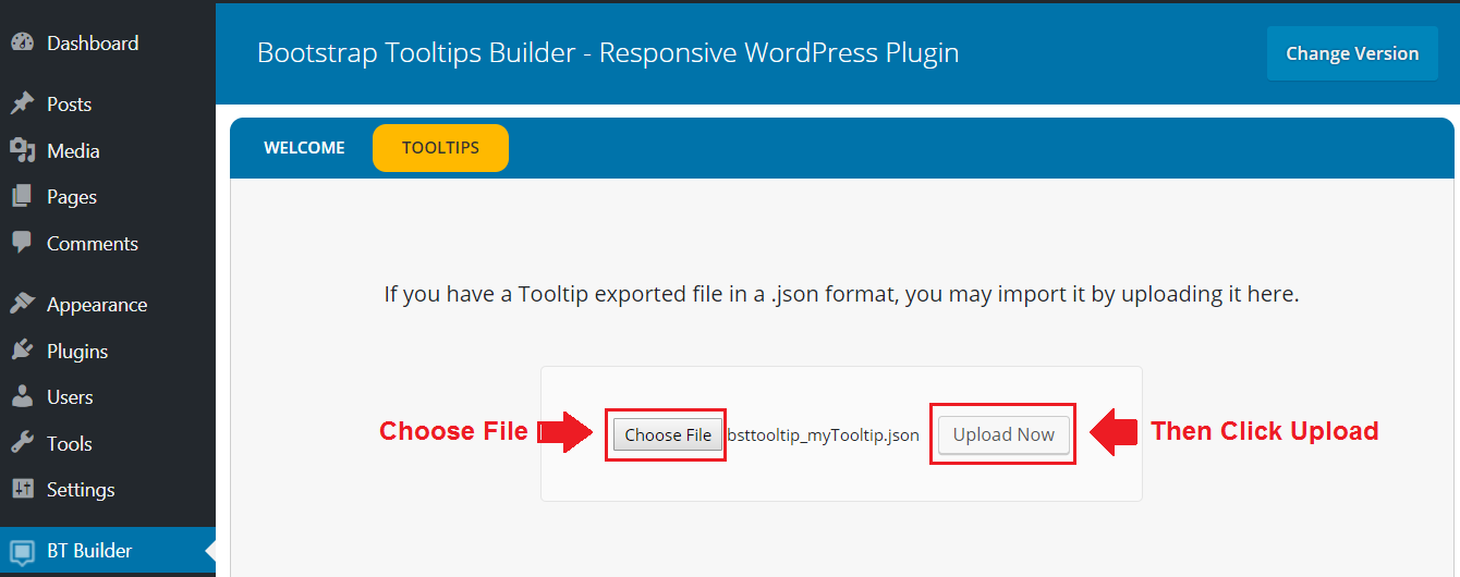 Bootstrap Tooltip - Responsive WordPress Plugin (Documentation)
