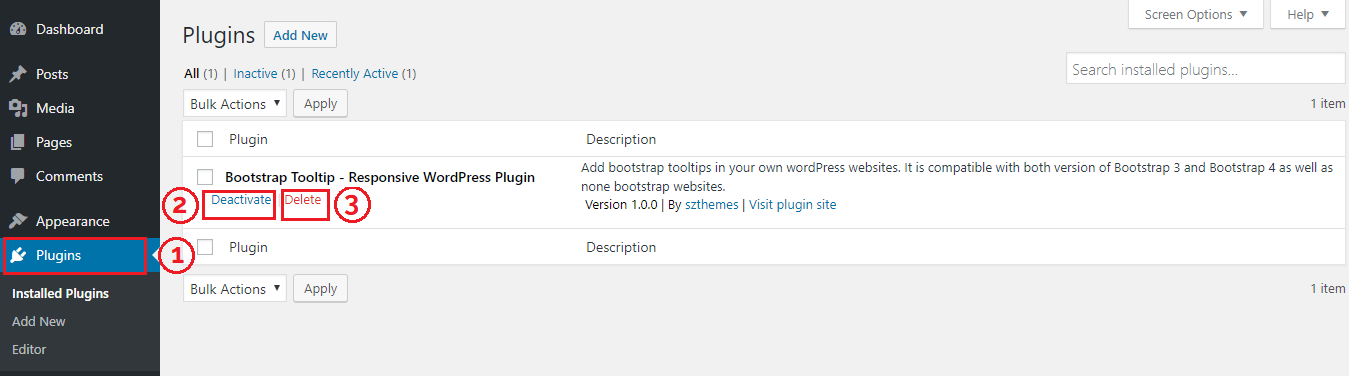 Tooltip Bootstrap 4